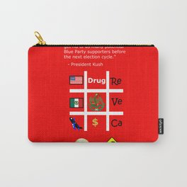 Red Party Carry-All Pouch