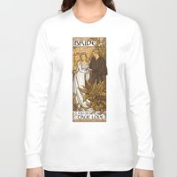 princess bride Long Sleeve T-shirts featuring Bride by Karen Hallion Illustrations