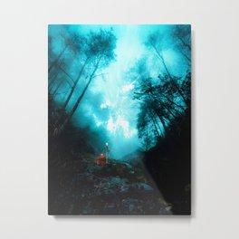 The dark side of the mirror Metal Print