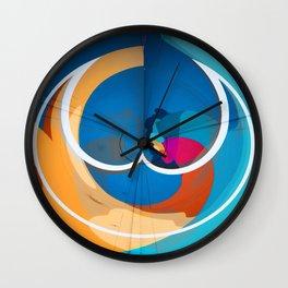 Valentine Saturation Wall Clock