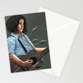 blue blood blues Stationery Cards