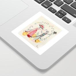 La Catrina y el Catrín Sticker