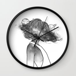 Into the universe. Wall Clock
