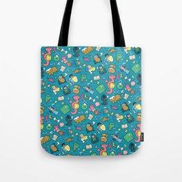Dungeons & Patterns Tote Bag
