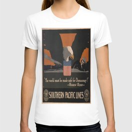 Vintage poster - Southern Pacific T-shirt