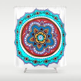 Isfahanapalooza Shower Curtain