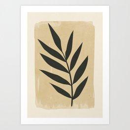 minimal plant 10 Art Print