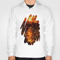 sunset Hoodies featuring Sunset  by Aloke Design