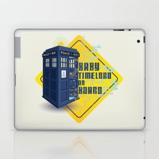 Doctor Who Tardis - Baby Timelord on Board Laptop & iPad Skin