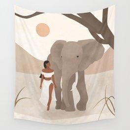 Spirit Animal – Elephant Wall Tapestry