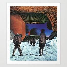 On The Ice Art Print
