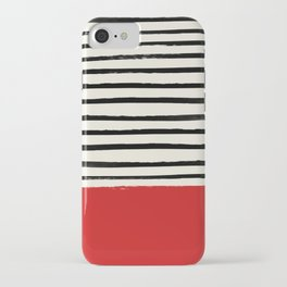 Red Chili x Stripes iPhone Case