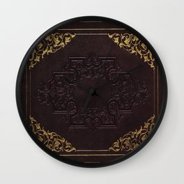 BOOK COVER Wall Clock