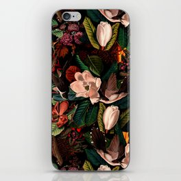 FLORAL AND BIRDS XIV iPhone Skin