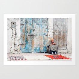 Essaouira Rugs Art Print