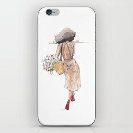 Hello Spring( NubianRockChick) iPhone Skin