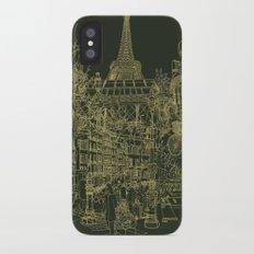 Paris! Olive Slim Case iPhone X