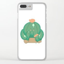 Family Sticks Together Clear iPhone Case