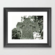Celtic nation Framed Art Print