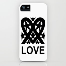 Heart And Stars iPhone Case