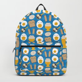 Kawaii Eggs For Breakfast Backpack