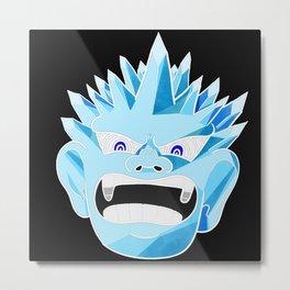 Ice Oni Metal Print