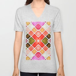 WATERCOLOR Unisex V-Neck