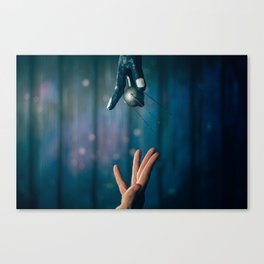 Gift from the Alien Canvas Print