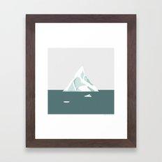 ISBJERG #02 Framed Art Print