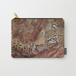Leopard Thoughts Carry-All Pouch