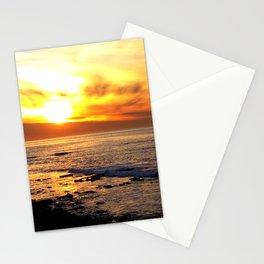 La Jolla Sunset Stationery Cards