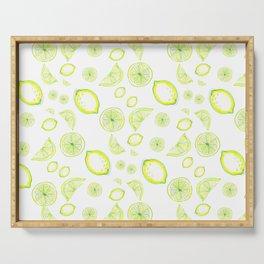 lemon rain, lemonade Serving Tray