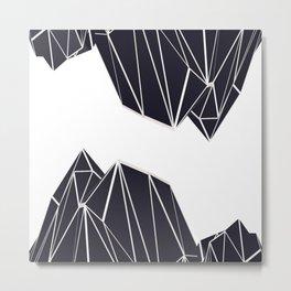 Mountains B2 Metal Print
