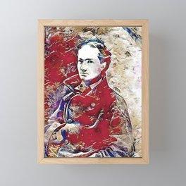 Charles Baudelaire 1. Framed Mini Art Print