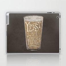 Yeast is a Fungi - Beer Pint Laptop & iPad Skin