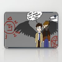 supernatural iPad Cases featuring Supernatural  by Research&Development