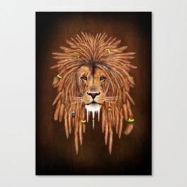 Dreadlock Lion Canvas Print