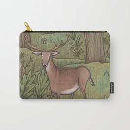Deer in Woodland Carry-All Pouch