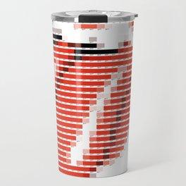 Pantone as pixel Rolling Travel Mug