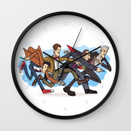 The Four Doctors (Doctor Who) Wall Clock