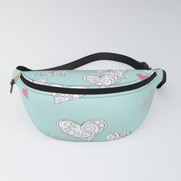 Happy Valentine Fanny Pack