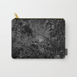 raleigh map north carolina Carry-All Pouch