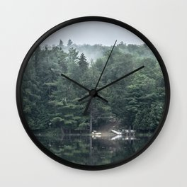 Lakeside Morning Wall Clock