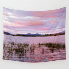 Sunset over Raquette Lake Wall Tapestry