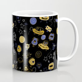 Don't be blue, we are all a little alien Coffee Mug