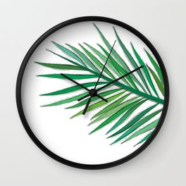 Leaves - drawing Wall Clock
