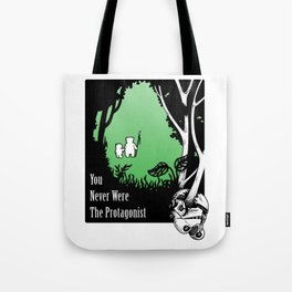 The Protagonist Tote Bag