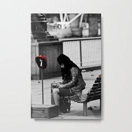 Street performer Metal Print