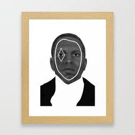 Aaron Burr, Sir. Framed Art Print