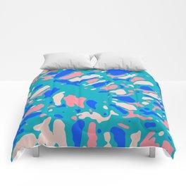 Coral Reef Sunlight Dream Comforters